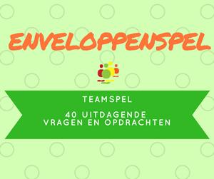 Groepsspellen-enveloppenspel-teamspel