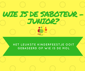 wie-is-de-saboteur-junior-kinderfeestje
