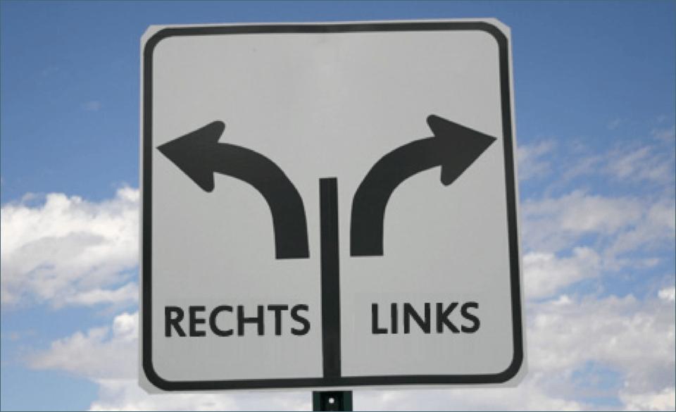 Links Oder Rechts