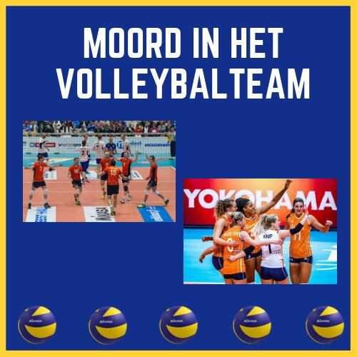 Moordspel Volleybalteam