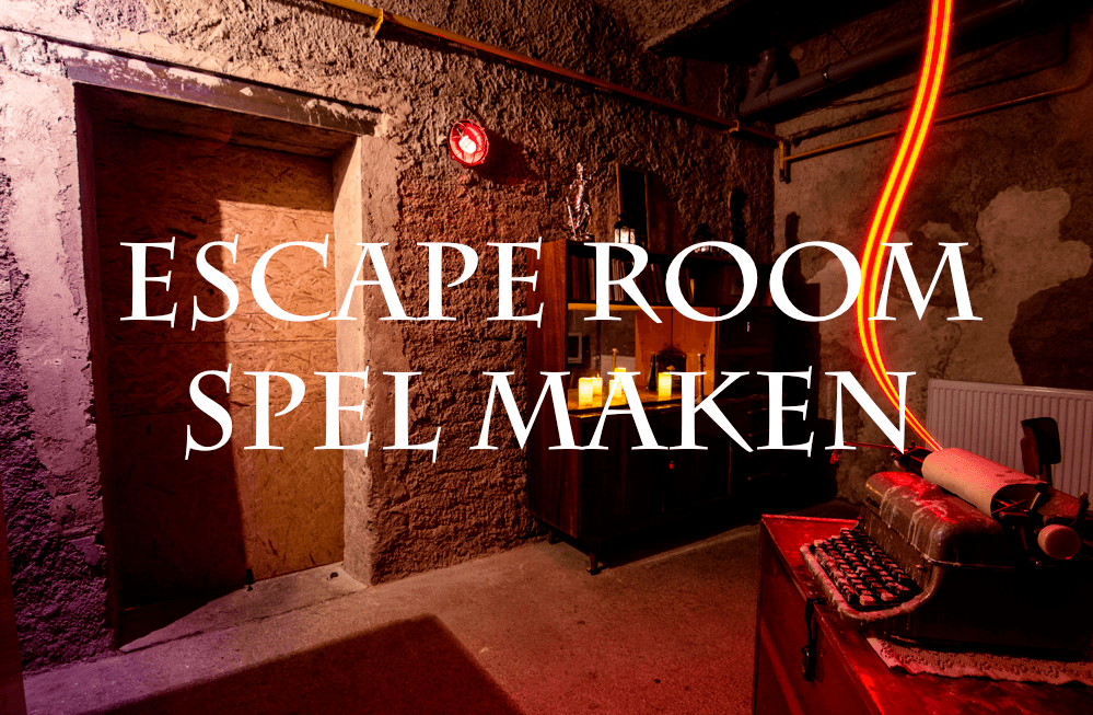 escape room spel maken