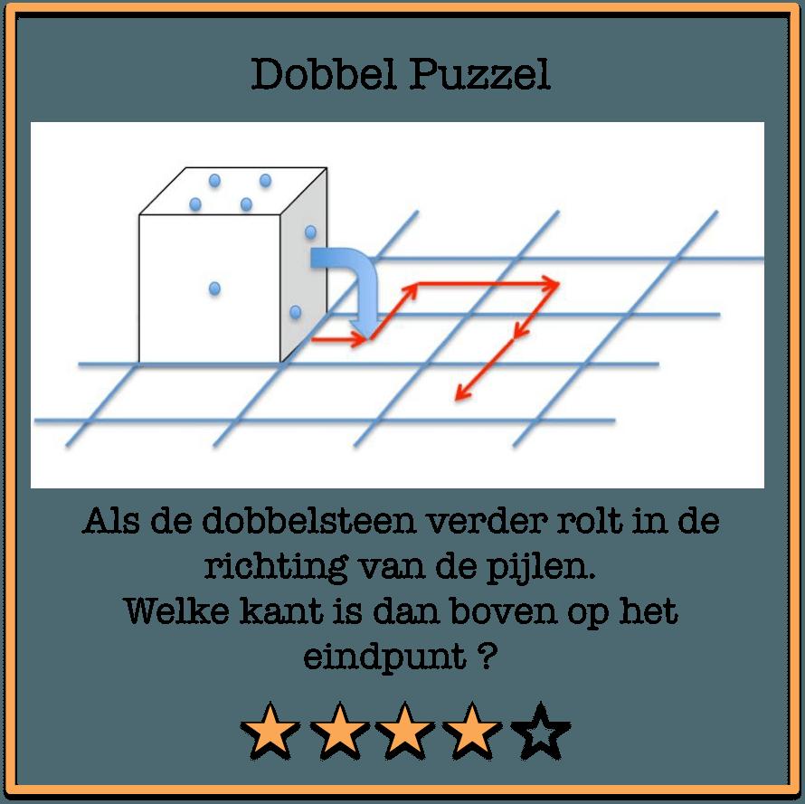 Dobbel puzzel 1 oktober 2018