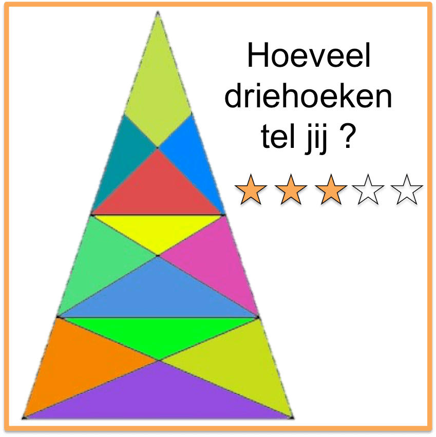 Breinbrekers driehoeken