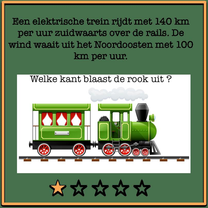 raadsels trein