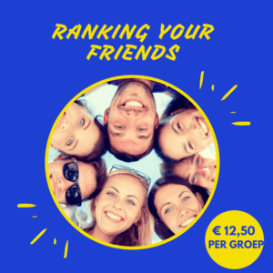 Ranking your friends