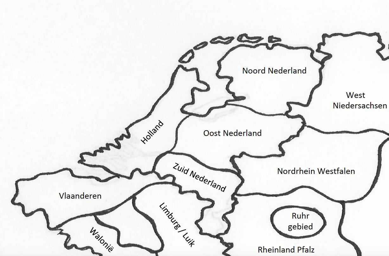 Kinderspel Koning Noordwest Europa