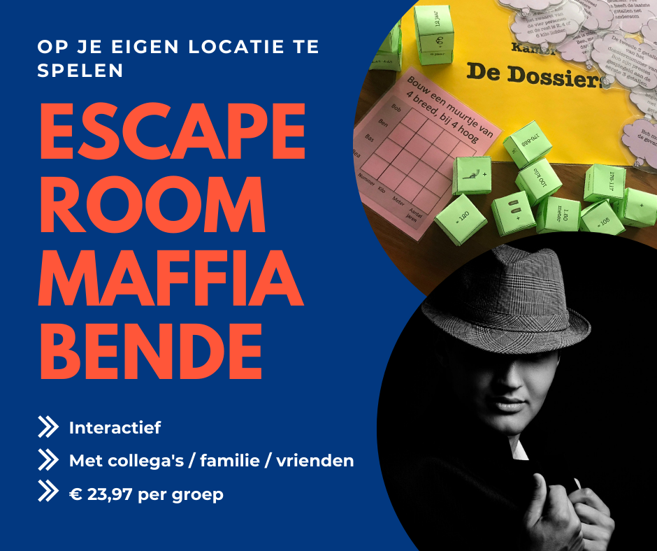 Escape room Maffiabende