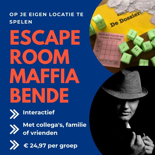 Escaperoom Maffiabende
