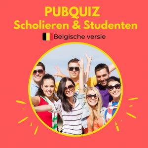 Pubquiz scholieren en studenten Belgie