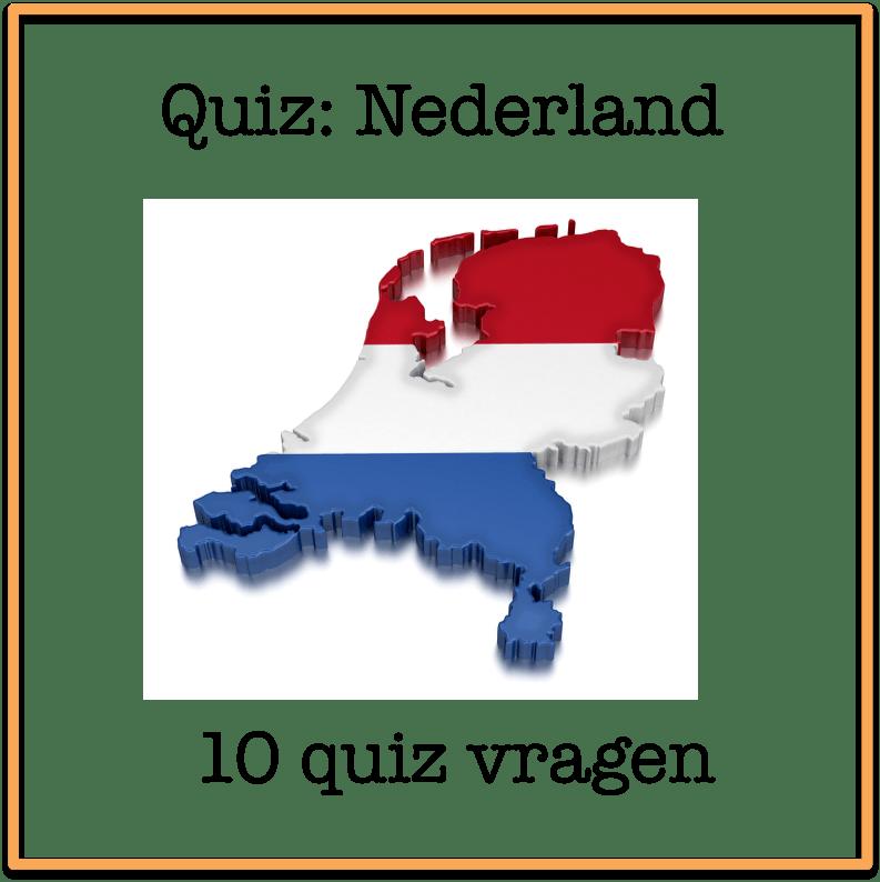 quiz Nederland