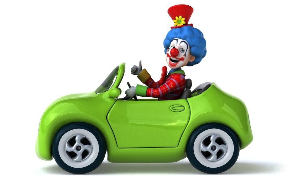 clown auto