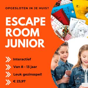 Escape room voor kinderen