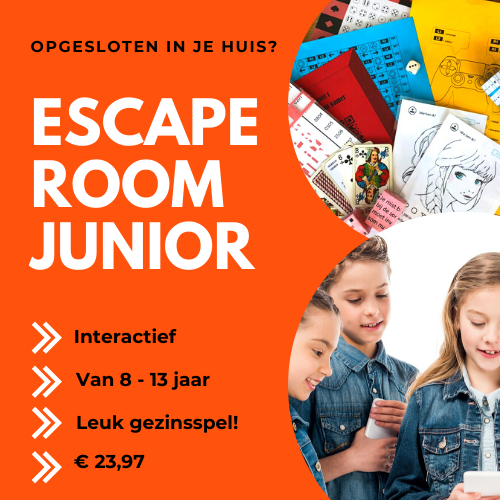 Escaperoom junior Gevangen in een game