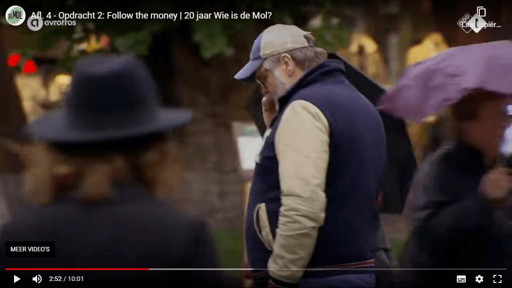 Wie is de Mol 2020 aflevering 4 oud mol Patrick in beeld