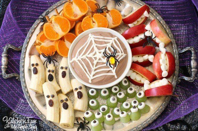 Halloween fruit traktatie