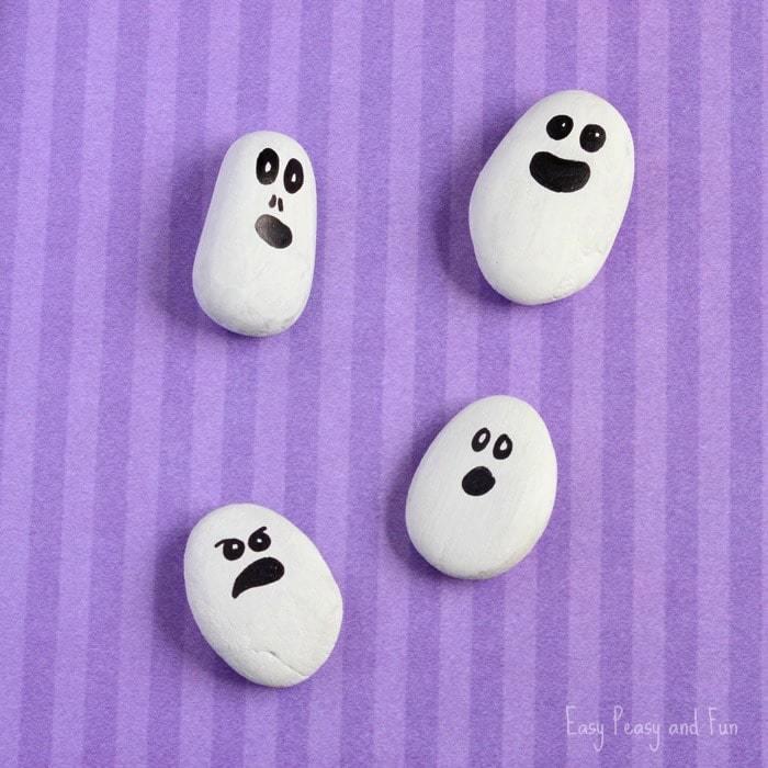 Halloween knutselen spookjes