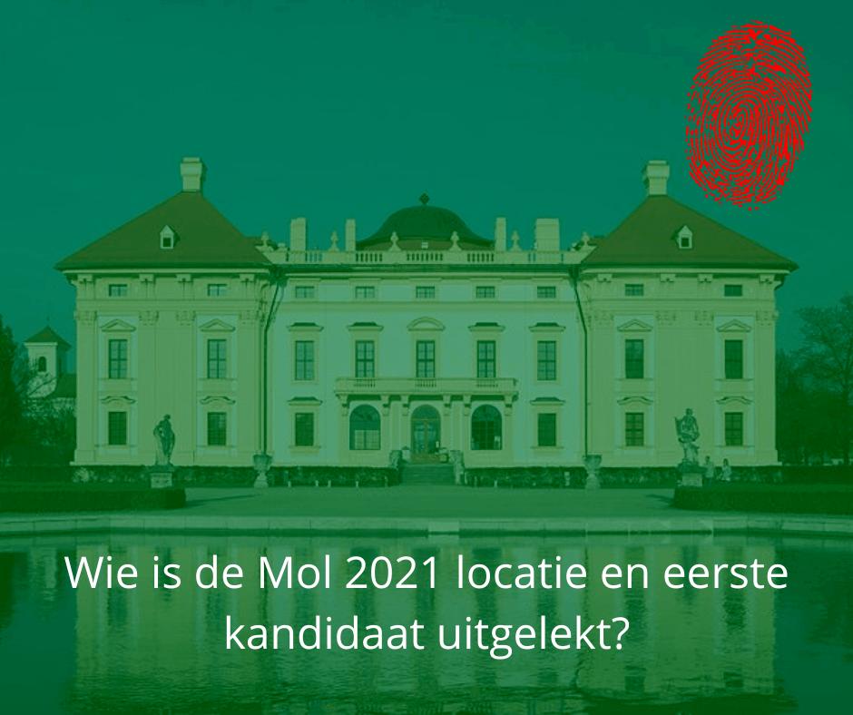 Wie is de mol 2021 kandidaat en locatie