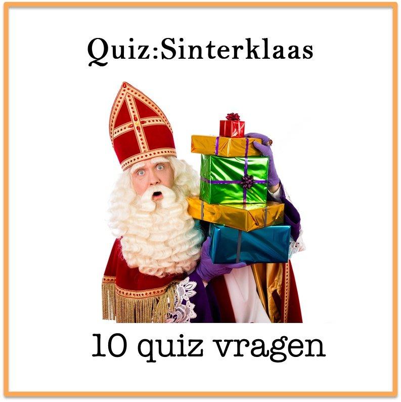 Quiz-Sinterklaas