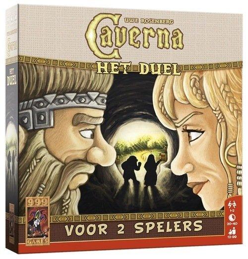 Spel 2 personen Caverna het Duel