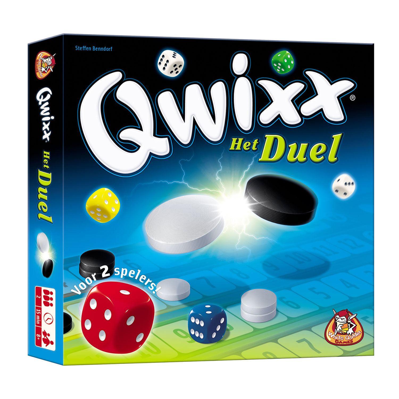 Spelletjes voor 2 Qwixx Het Duel