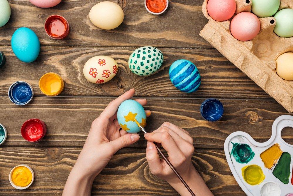 Paas spelletje eieren