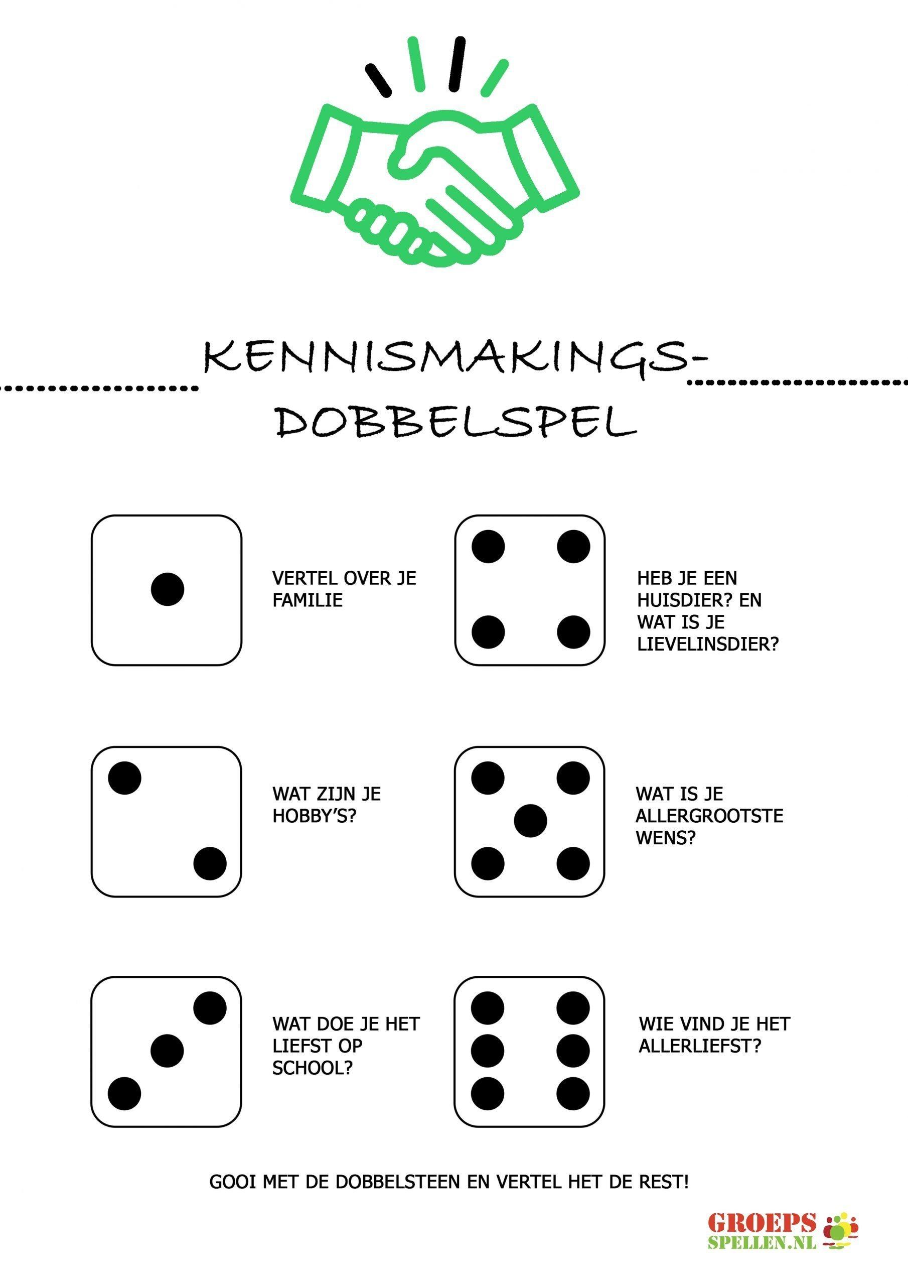 Kennismakings dobbelspel